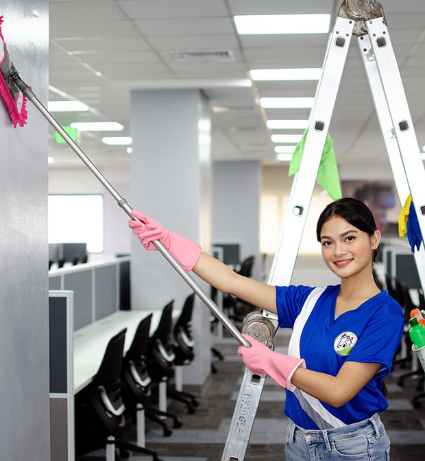 BPO Office Fit-Out Cleaning by Bridges Optimum Clean